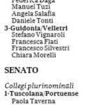 candidati circoscrizioni plurinominali roma 3