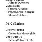 candidati roma camera senato 2