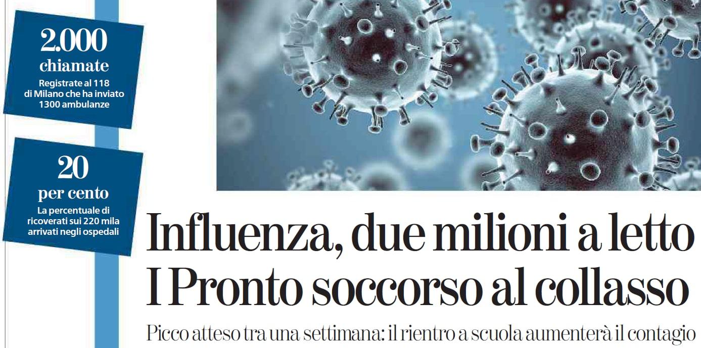 emergenza influenza vega colonnese m5s - 5