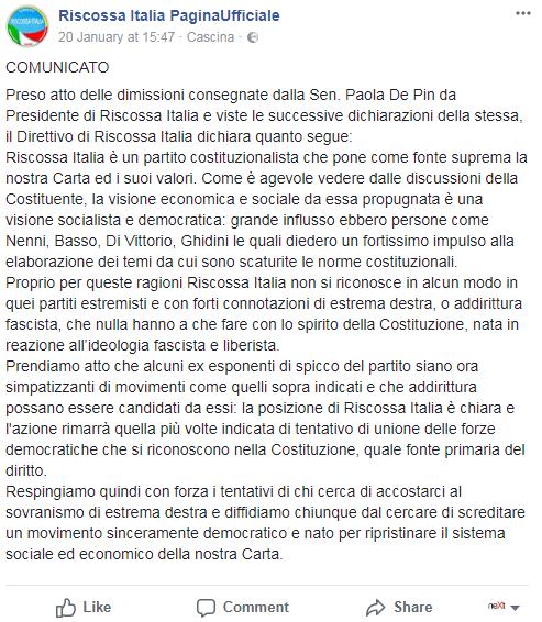 franco trinca riscossa italia free vax - 4