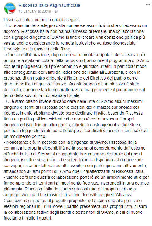 franco trinca riscossa italia free vax - 6