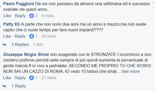 m5s roma rifiuti 5