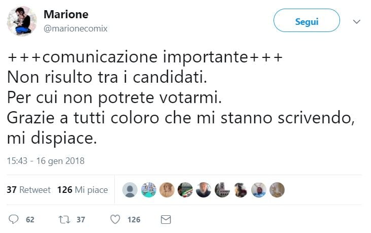 marione candidato m5s