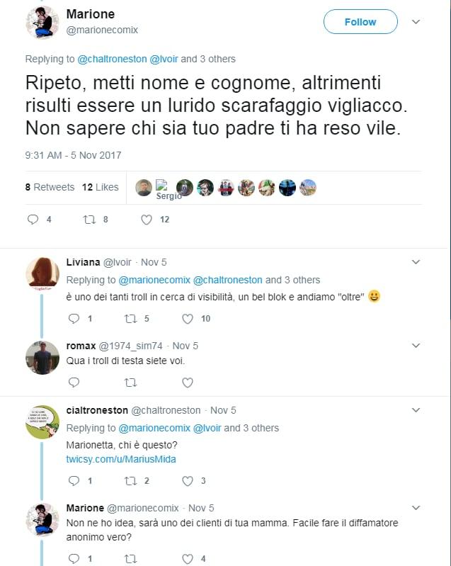 marione marius mida twitter - 15