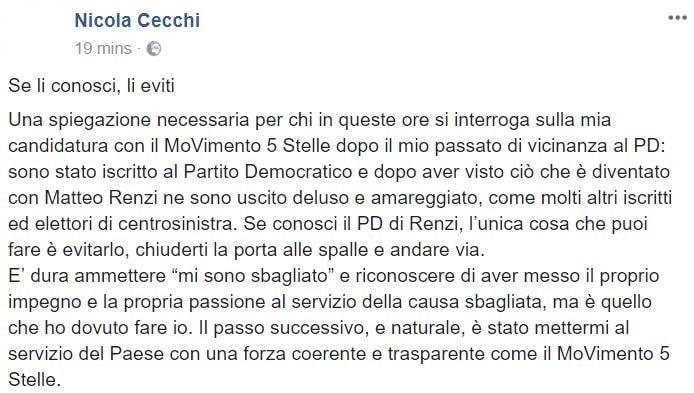nicola cecchi m5s 2