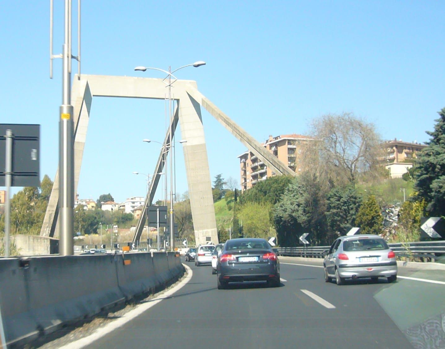 viadotto morandi roma fiumicino
