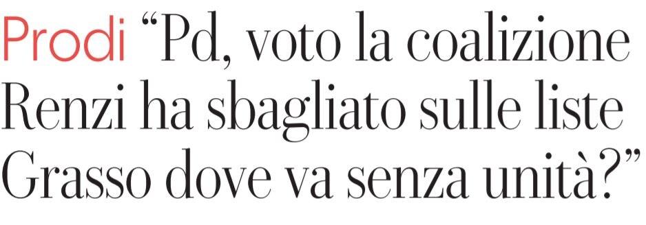 romano prodi vota