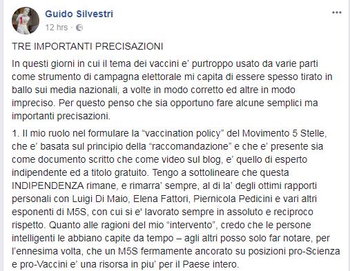 silvestri m5s vaccini obbligatori lorenzin taverna - 3