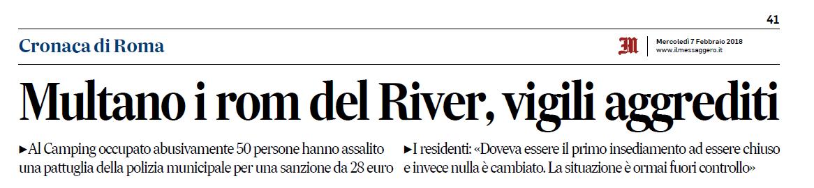 camping river rom piano rom roma capitale - 1