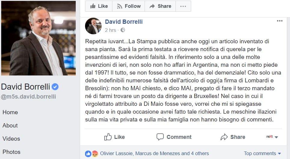 david borrelli