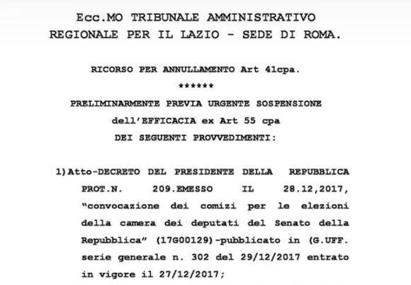 generale pappalardo elezioni 4 marzo
