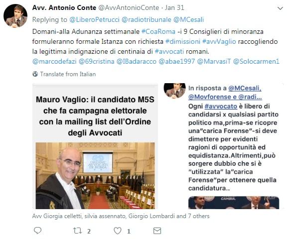 mauro vaglio ordine avvocati roma proteste dimissioni - 3