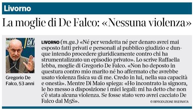 raffaella iebba gregorio de falco