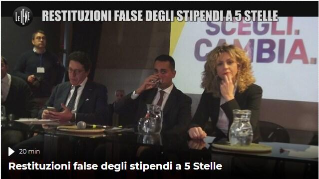 rimborsopoli m5s restituzioni stipendi maurizio buccarella