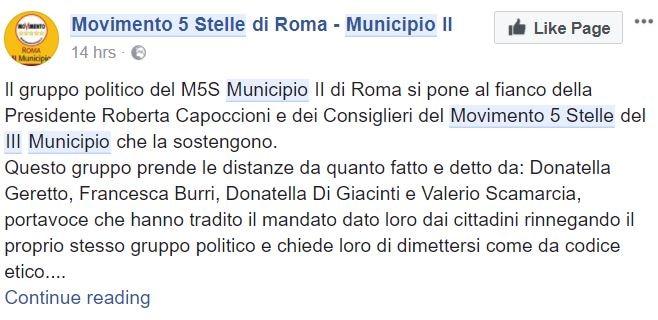 roberta capoccioni m5s roma 2