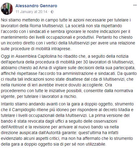 roma multiservizi trenta licenziamenti - 9