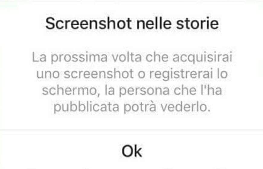 screenshot storie instagram