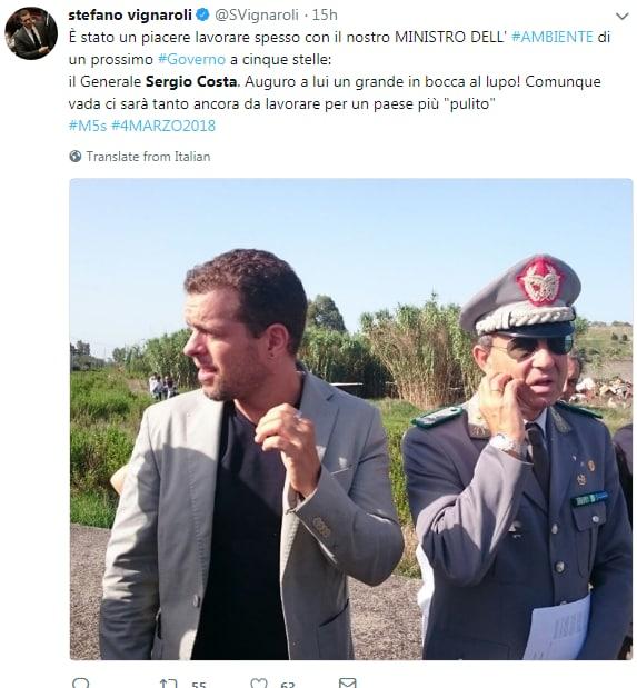 sergio costa ministro ambiente m5s di maio - 7