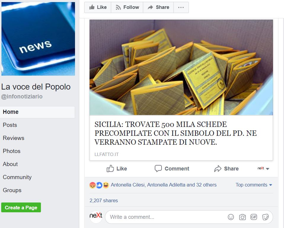 500mila schede sicilia simbolo pd