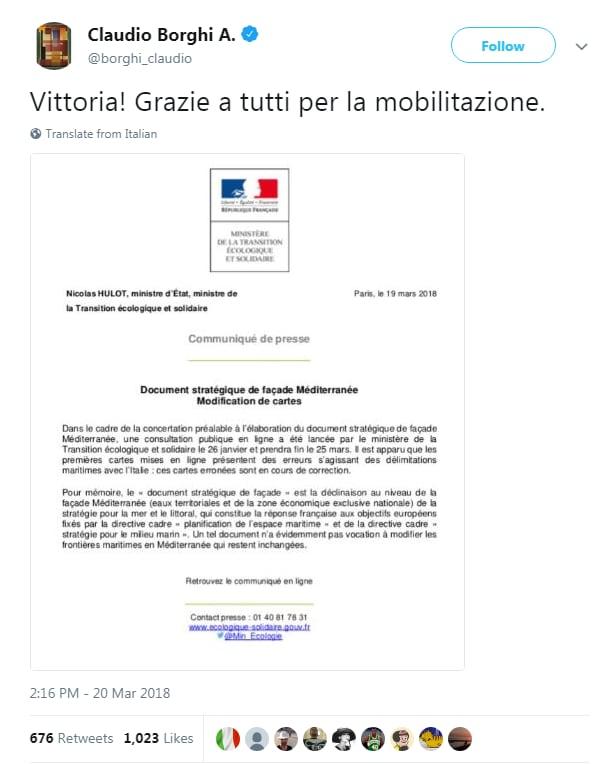 borghi trattato caen francia italia mare mappe sbagliate - 1