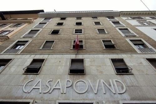 casapound via napoleone III