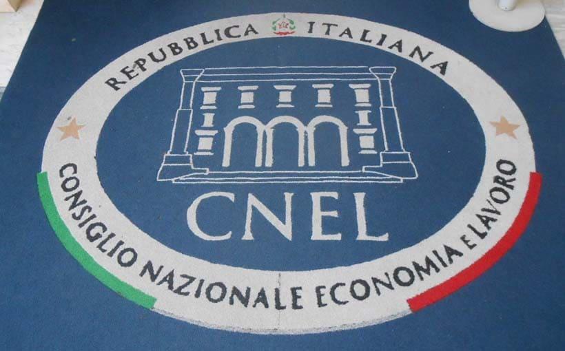 cnel consiglio nazionale dell'economia e del lavoro 1