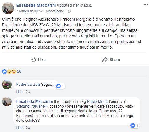 fabrizio luches m5s friuli candidatura - 6