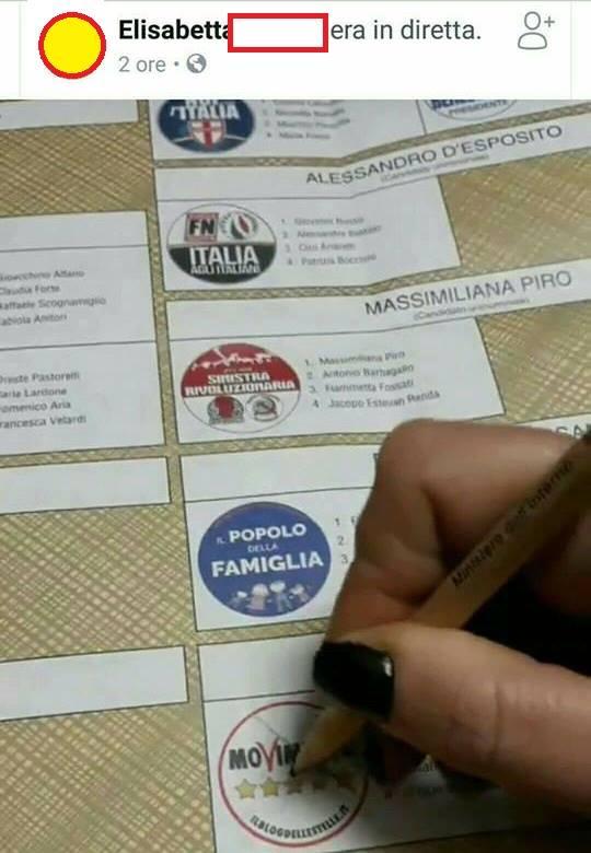 fotografare voto reato 7