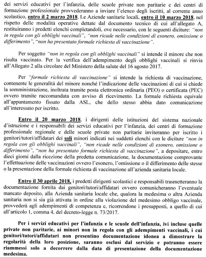 free vax 10 marzo scuola lorenzin vaccini - 2