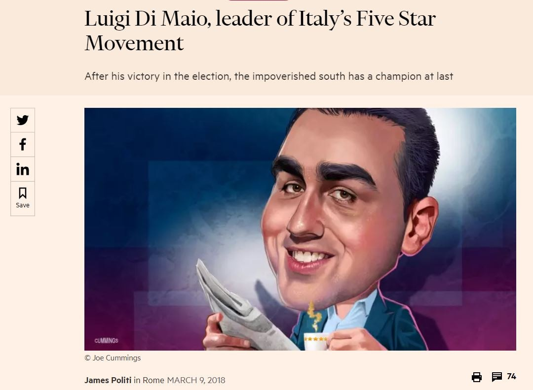 luigi di maio financial times