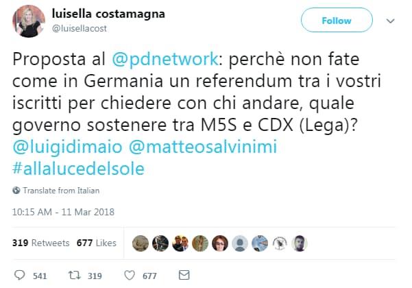 luisella costamagna bufala renzi jobs act cassiera fatto quotidiano - 3