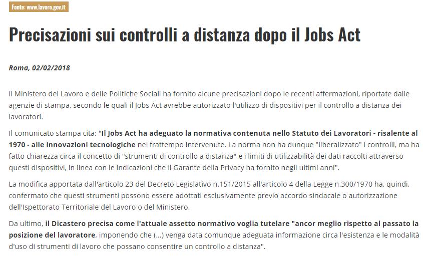luisella costamagna bufala renzi jobs act cassiera fatto quotidiano - 4