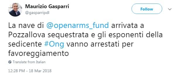 proactiva open arms ong sequestro catania zuccaro - 4