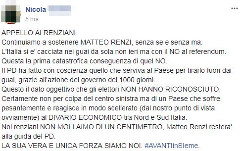 renziani pd sconfitta - 2