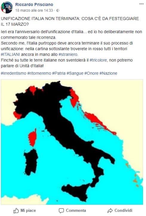 riccardo prisciano fratelli d'italia carabinieri piatti bicchieri immigrati - 5