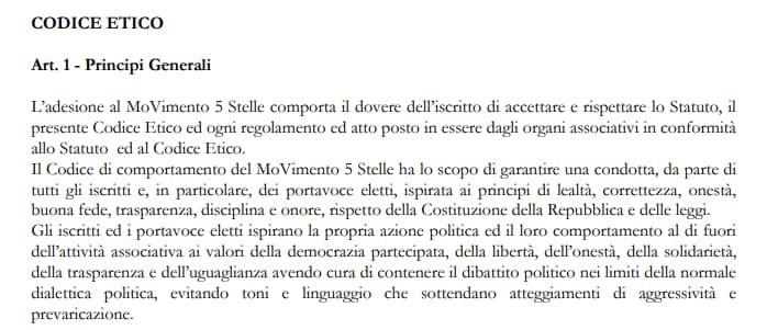 statuto parlamentari m5s -1