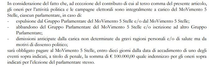 statuto parlamentari m5s - 4
