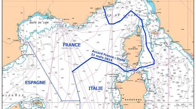trattato di caen mare sardegna francia