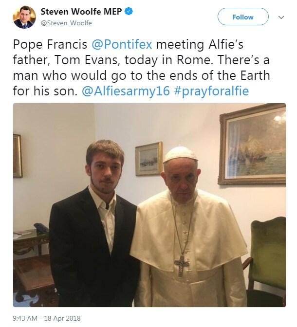 alfie evans alder hey bambin gesù papa matteo salvini - 2