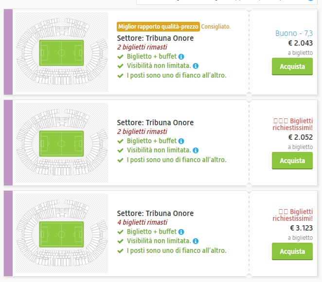 bagarini biglieti roma liverpool champions league secondary ticketing - 8