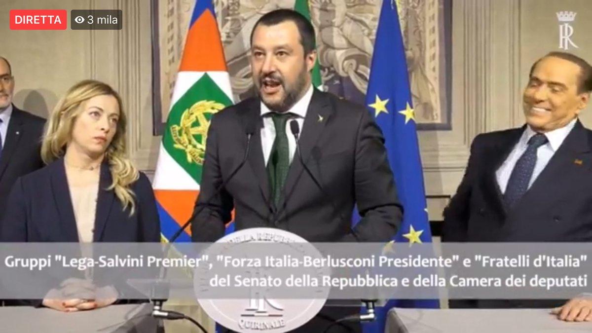 Crisi di Governo. Berlusconi a Mattarella :
