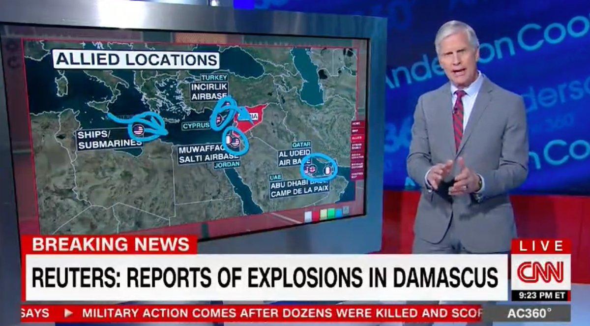 donald trump attacco siria 1