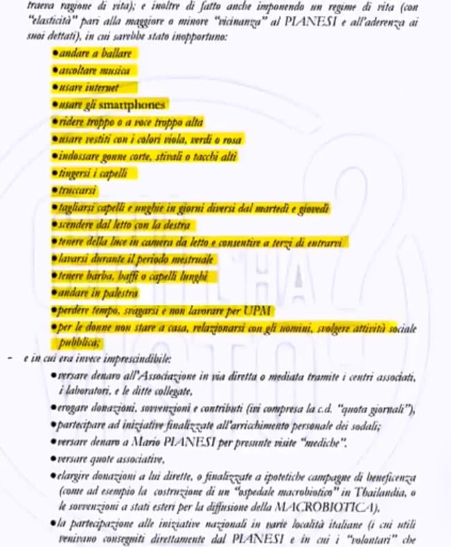 mario pianesi macrobiotico setta chi l'ha visto regole - 4