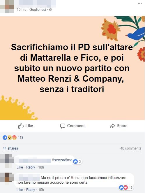 renziani pd incarico roberto fico m5s confronto - 8