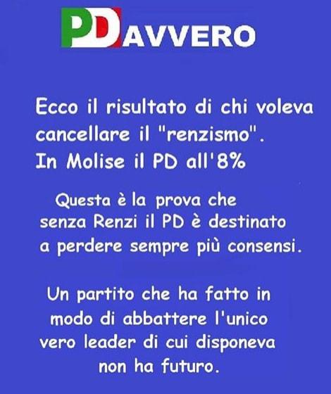 renziani pd risultato molise sconfitta renzi - 3
