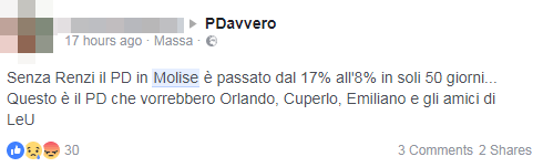 renziani pd risultato molise sconfitta renzi - 7
