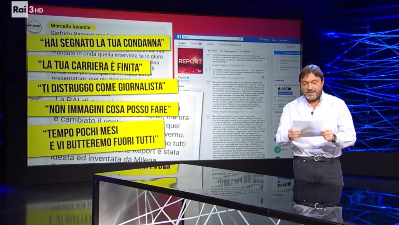 report minacce ranucci transumanisti marcello iuvenile - 3