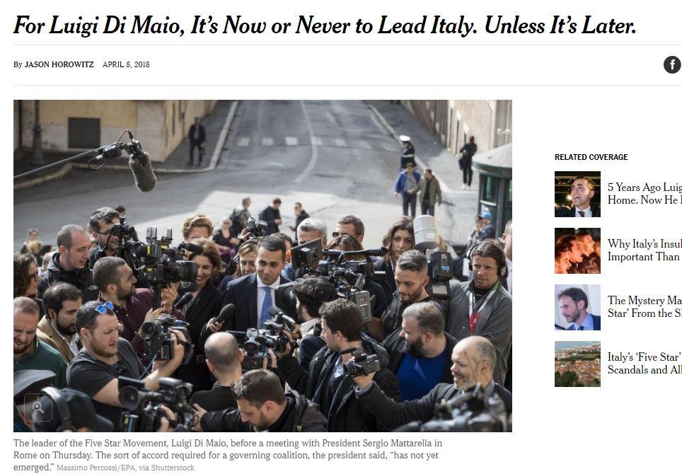 rocco casalino new york times