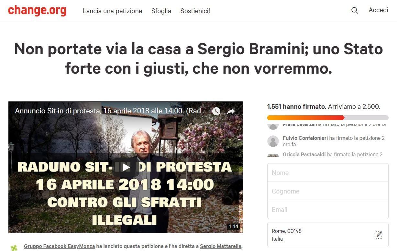 sergio bramini petizione