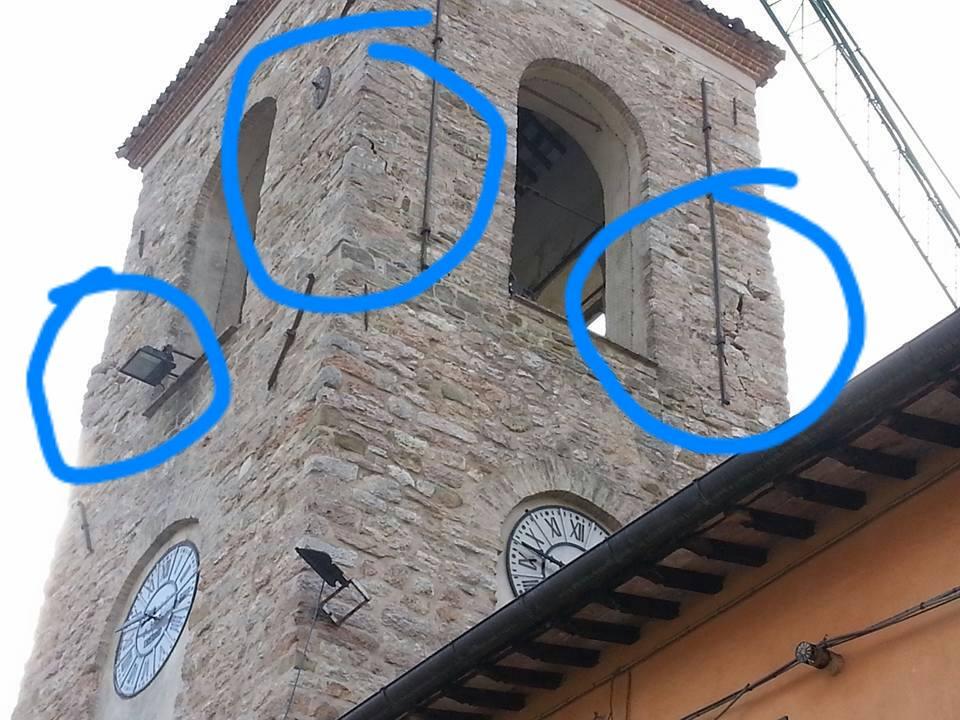 terremoto campanile muccia